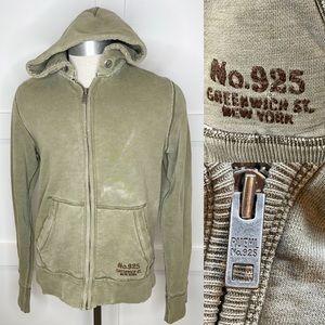 Ruehl No. 925 Men Sweatshirt Hoodie Distressed M